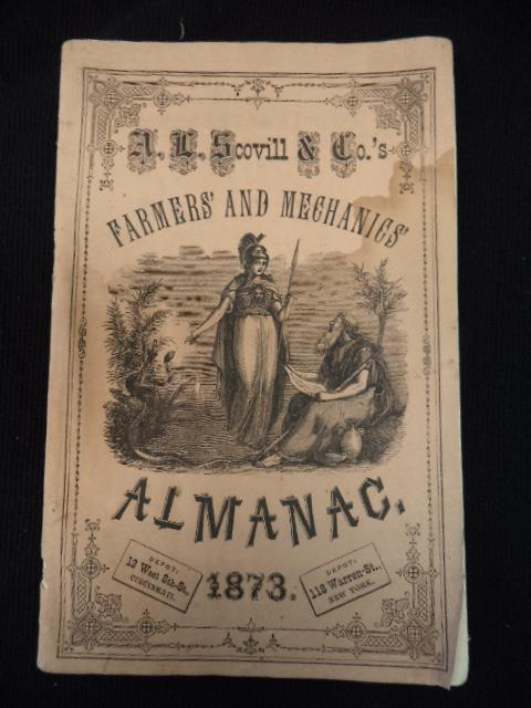 Image for A.L. Scovill & Co.'s Farmers' and Mechanics' Almanac 1873