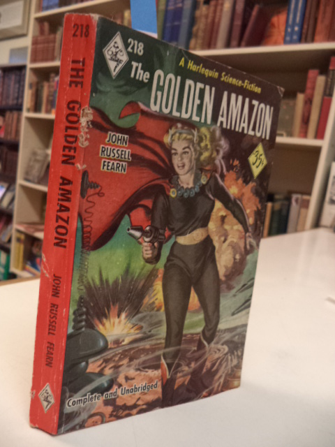Image for The Golden Amazon [218 Harlequin Science Fiction]