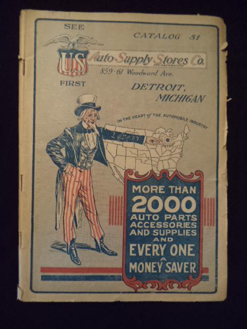 Image for Catalog 51 of the Auto Supply Stores Co. of Detroit, Michigan.