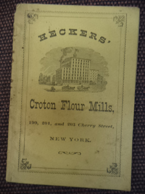 Image for Heckers' Croyton Flour Mills, New York. Catalogue and recipes