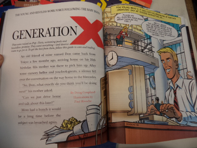 Image for VISTA magazine complete run of 14 issues [Generation X]