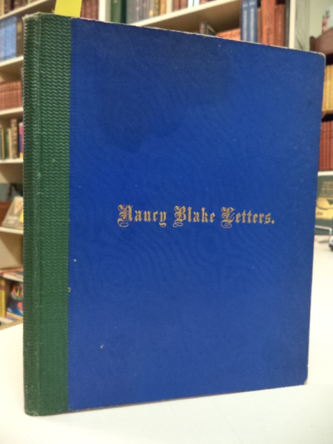 Image for Nancy Blake: Letters to a Western Cousin