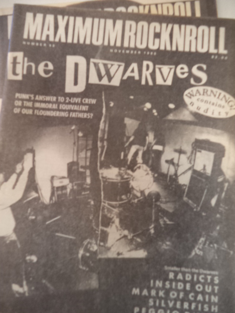 Image for Maximumrocknroll 32 issues 1990-2000 [maximum RocknRoll rock n roll]