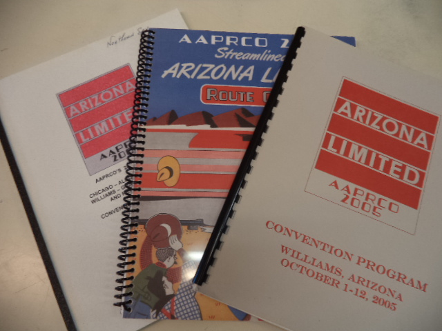 Image for AAPRCO 2005 Arizona Limited: Route Guide, Trip Book, and Convention Program. Williams Arizona