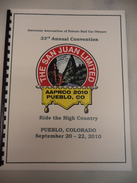 Image for AAPRCO 2010 Pueblo Colorado Annual Convention Program.