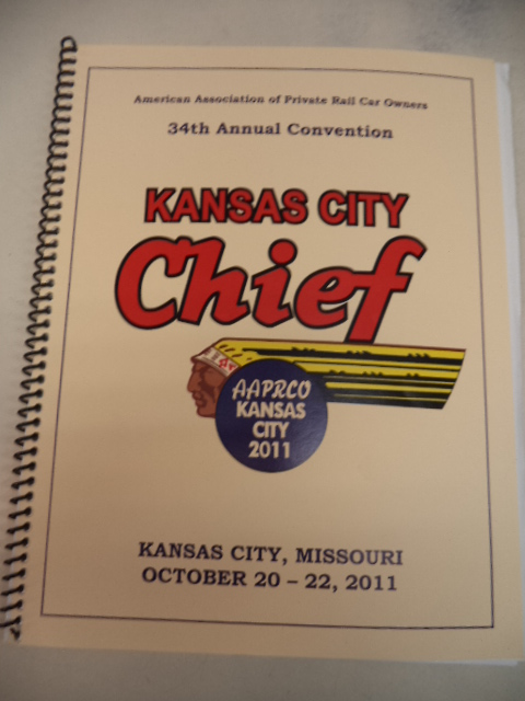 Image for AAPRCO 2011 Annual Convention Program: Kansas City Chief