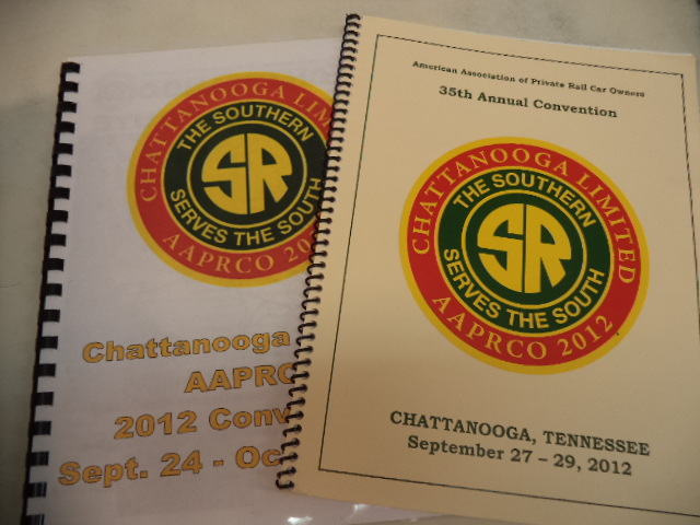 Image for AAPRCO 2012 Chattanooga Limited. Route Guide / Trip Book and Convention Program.