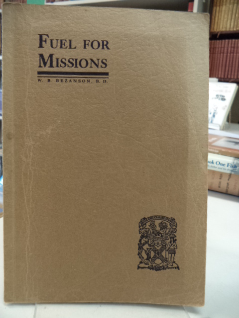 Image for Fuel for Missions, Saunders - Bezanson