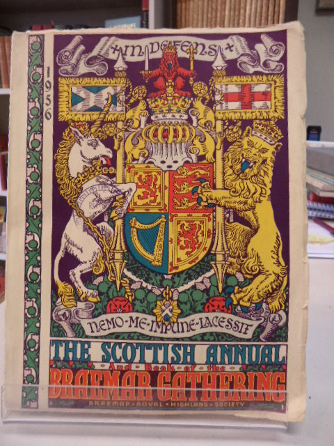 Image for The Scottish Annual & The Braemar Gathering Book. 1956