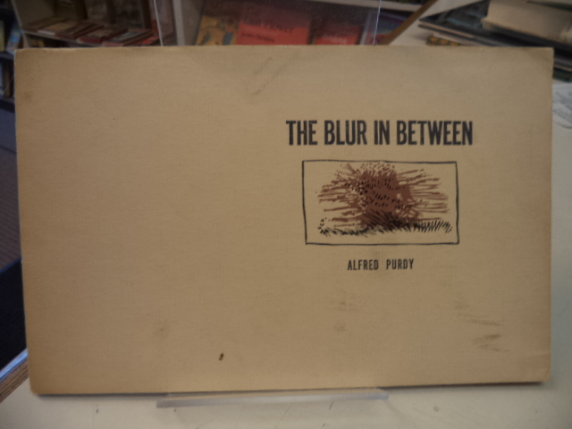 Image for The Blur in Between: Poems 1960-61 [inscribed]