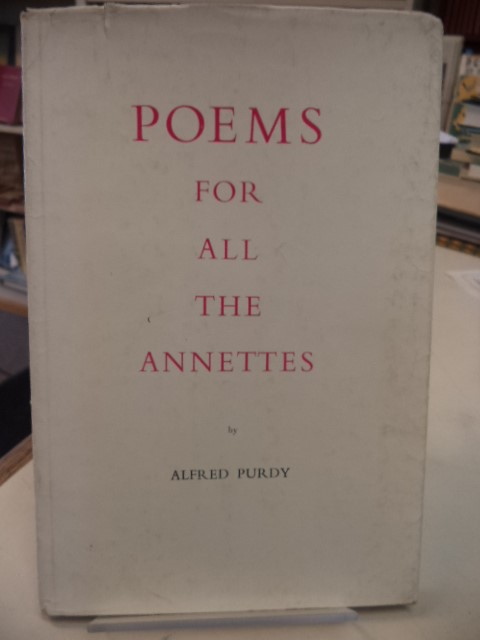 Image for Poems for All the Annettes. [inscribed]