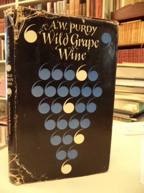 Image for Wild Grape Wine. [inscribed]