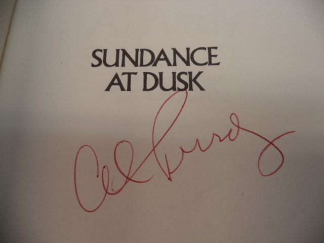 Image for Sundance at Dusk. [inscribed]