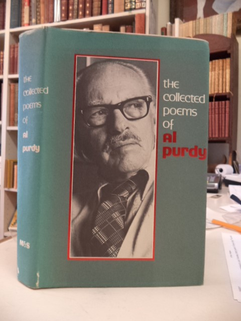 Image for The Collected Poems of Al Purdy. [inscribed]