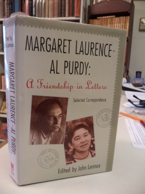 Image for Margaret Laurence - Al Purdy: A Friendship in Letters. [inscribed]
