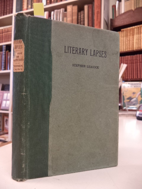 Image for Literary Lapses : A Book of Sketches