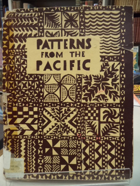 Image for Patterns From The Pacific : portfolio of designs based on objects from the ethnological collections of McGill University