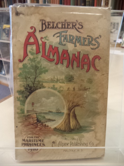 Image for Belcher's Farmer's Almanac. For The Maritime Provinces, Dominion of Canada, for the Year of Our Lord 1910 [almanack]