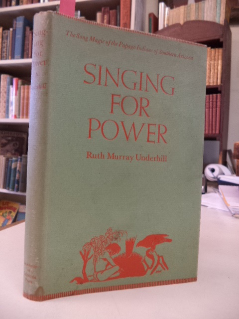 Image for Singing for Power: The Song Magic of the Papago Indians of Southern Arizona