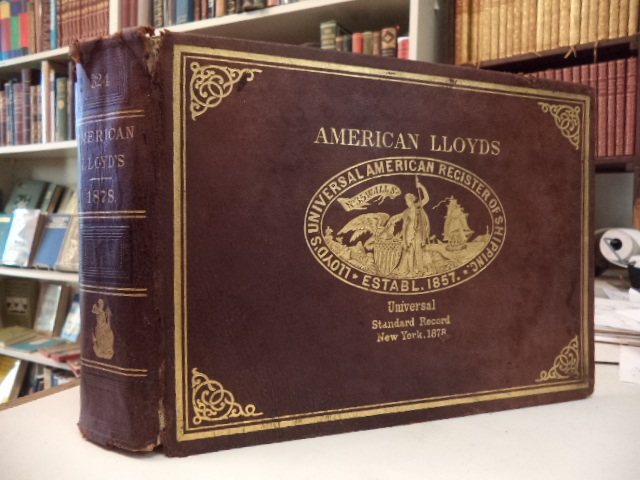 Image for American Lloyds Universal Standard Record of Shipping  1878. [ Lloyd's Registry / Register American and Foreign]