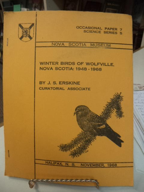 Image for Winter Birds of Wolfville, Nova Scotia: 1948 -1968
