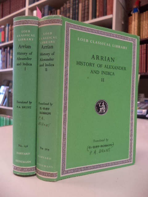 Image for Loeb Classical Library: Arrian: History of Alexander and Indica. in Two Volumes: Volumes 1 - 2 [complete set. Anabasis Alexandri, Indica]