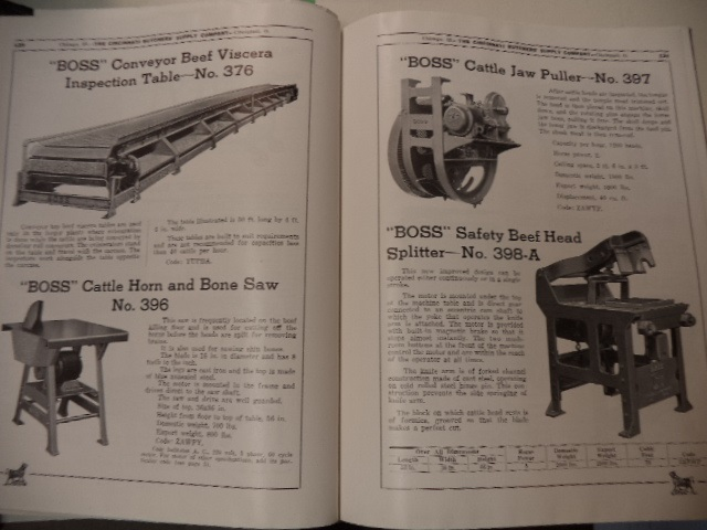 Image for The Cincinnati Butchers' Supply Company Catalog No. 54. : BOSS Machinery and Equipment for the Meat Packing Industry