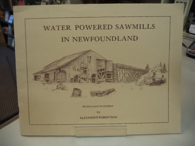 Image for Water Powered Sawmills in Newfoundland
