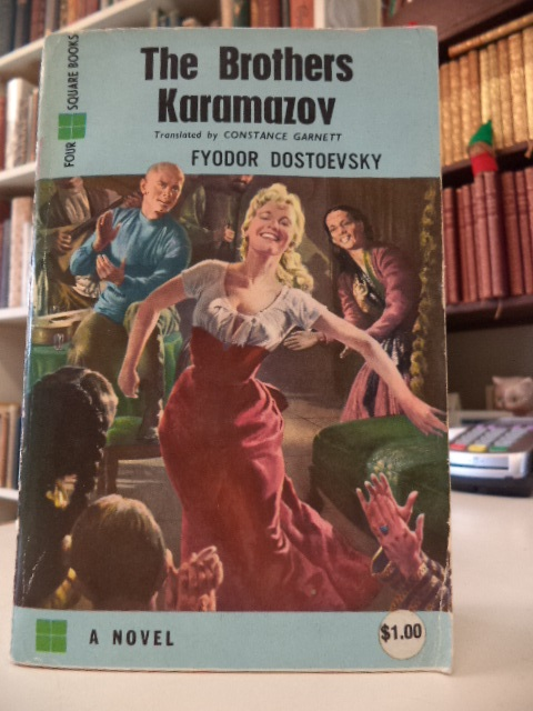 Image for The Brothers Karamazov [Yul Brynner MGM film cover]