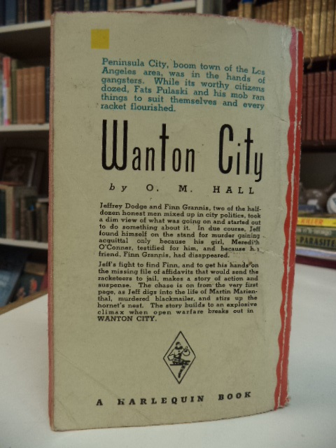 Image for Wanton City [Murder City]