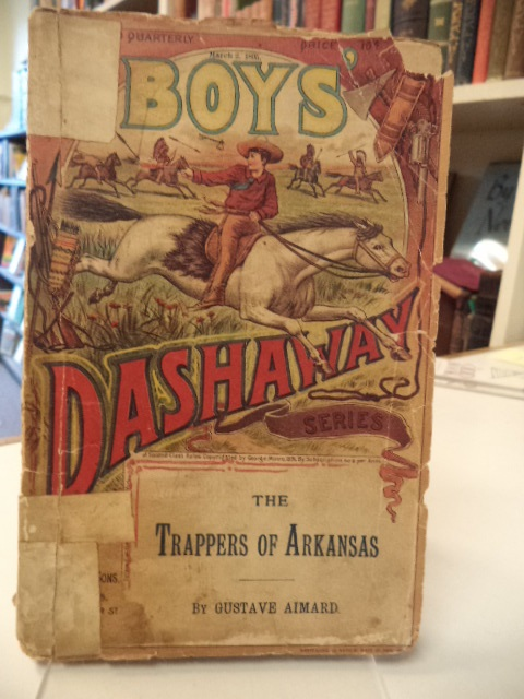 Image for Trappers of Arkansas [Munro's Boys Dashaway Series]