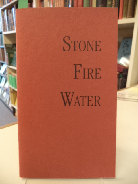 Image for Stone Fire Water [Three Lenten Poems]