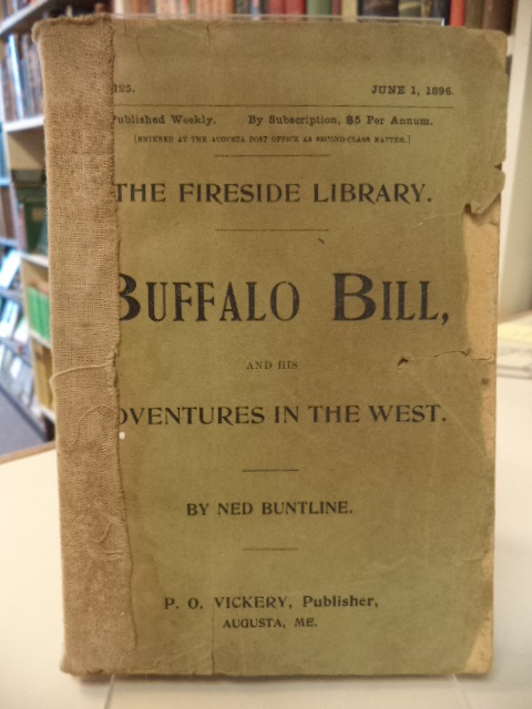 Image for Buffalo Bill and His Adventures in the West [Fireside Library]
