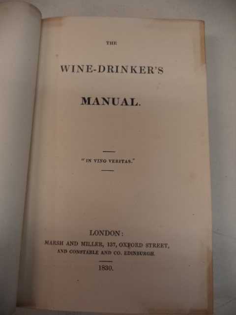 Image for The Wine-Drinker's Manual