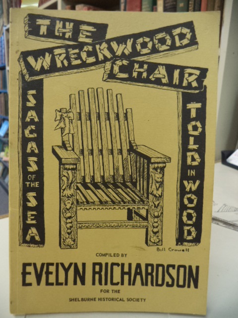 Image for The Wreckwood Chair - Sagas of the Sea Told In Wood