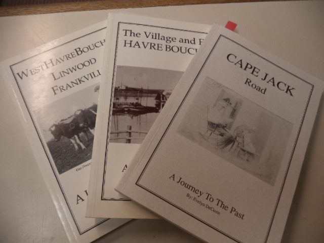 Image for A Journey To The Past: Cape Jack Road; The Village and East Havre Boucher; West Havre Boucher Linwood Frankville [three volumes]