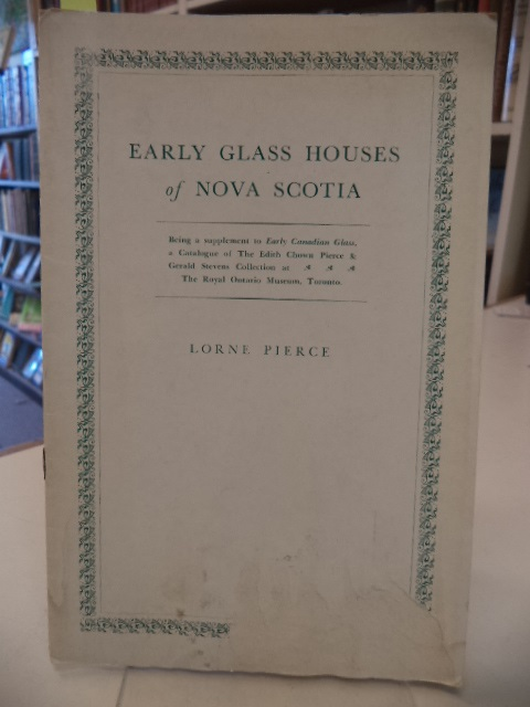 Image for Early Glass Houses of Nova Scotia