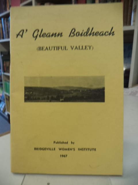 Image for A'Gleann Boidheach (Beautiful Valley) [Bridgeville, Nova Scotia]