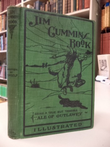 Image for Jim Cummins' Book. Written by Himself; The Life Story of the James and Younger Gang and their Comrades, including the Operations of Quantrell's Guerillas. [with stamped signature of Frank James]