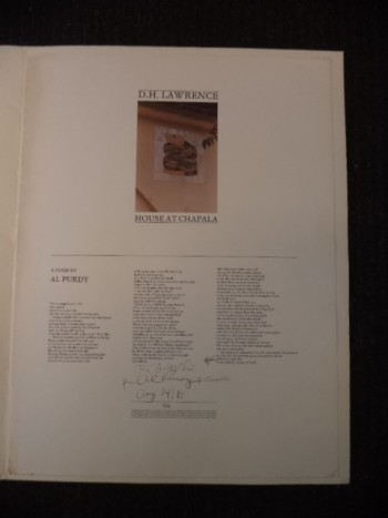 Image for The D. H. Lawrence House At Chapala [1/44, inscribed]