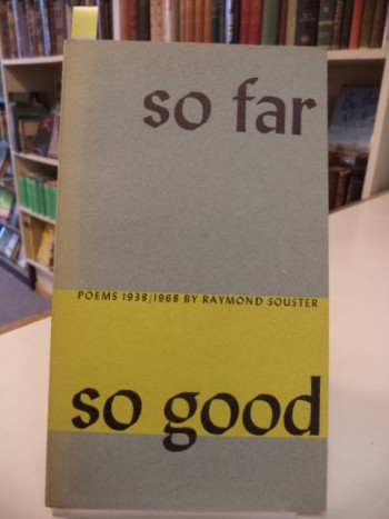 Image for So Far So Good [inscribed]