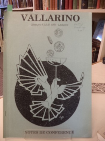 Image for Vallarino : Notes de Conference