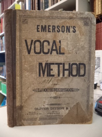 Image for Emerson's Vocal Method