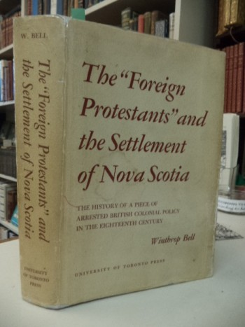 "Image for The ""Foreign Protestants"" and the Settlement of Nova Scotia"