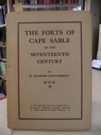 Image for The Forts of Cape Sable of the Seventeenth Century