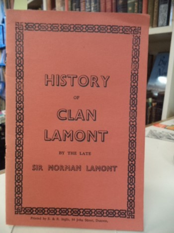 Image for Sketches of the History of Clan Lamont. (Being a Lecture Delivered by the late Sir Norman Lamont, Bart., at the First Annual General Meeting)