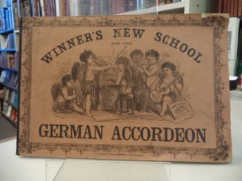 Image for Winner's New School For The German Accordeon [Accordion]