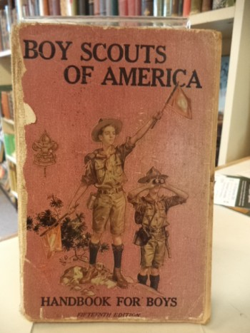 Image for Boy Scouts of America: Handbook For Boys [Fifteenth Edition, 1916]