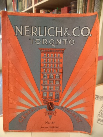 Image for Nerlich & Co. Toronto. General Catalogue No. 87. Season 1939 - 1940 Fancy Goods, Toys, Dolls, Games, Christmas Decorations, China and Glassware, Electric Fixtures, Staples and Smallwares. [Fall and Holiday Season: 1939]