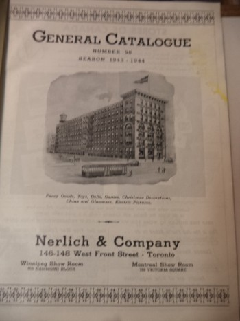 Image for Nerlich & Co. Toronto. General Catalogue No. 95. Season 1943 - 1944 Fancy Goods, Toys, Dolls, Games, Christmas Decorations, China and Glassware, Electric Fixtures. [Fall and Holiday Season: 1943]